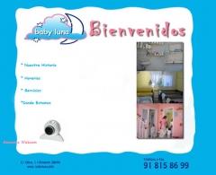 Escuela infantil y guardería en brunete (madrid). creada en html y css. http://www.babyluna.info