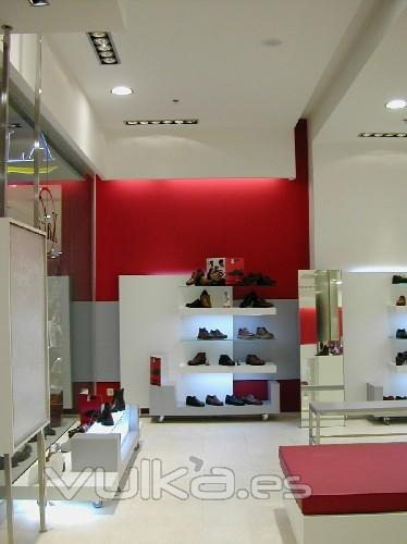 Decoracion Interiores Zapaterias ~ Foto Proyecto de dise?o de local comercial para zapateria