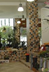Proyecto de interiorismo de local comercial para floristeria
