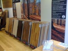 Exposicion makore madera de dise�o