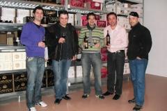Cata de vinos búlgaros con invitados de lujo, los sommeliers de elbulli