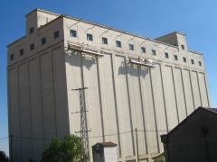 Pintura de fachada de silo