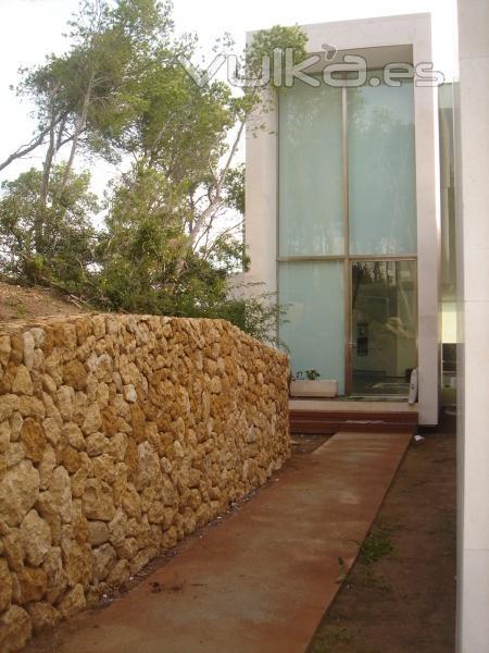 Espedra - Muros de contencion de piedra ...
