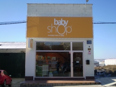 Reforma edificio - tienda babyshop avila