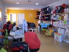 Reforma tienda babyshop avila interior 1