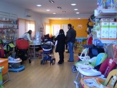 Reforma tienda babyshop avila interior 2