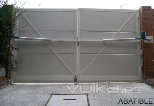 Puertas automaticas grupo morante - Brazos puertas automaticas ...