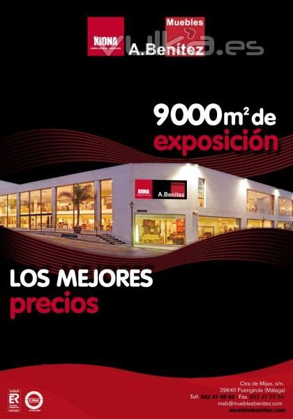 Foto anuncio muebles a benitez para la revista hot property for Anuncios muebles