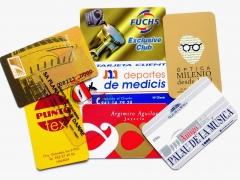 Tarjetas plasticas Pvc, banda magnetica, personalizadas.