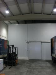 Cámara de frio industrial de mas de 100 m2