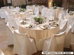 Salón de banquetes hotel casona torre de quijas