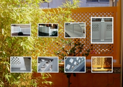 Vallas PVC www.komaterra.com modelo Celos�a