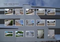 Valla PVC modelo SOMBRAS