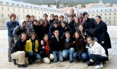 Visita guíada al escorial para los alumnos nuevos o visitantes