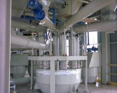 ´planta de fabricación de adhesivos / cemento cola.