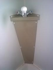 Pedestal para griferia en polipropileno fabricado y soldado por nuestros  operarios