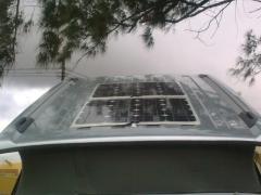 Instalacion de dos placas solares en  una t5