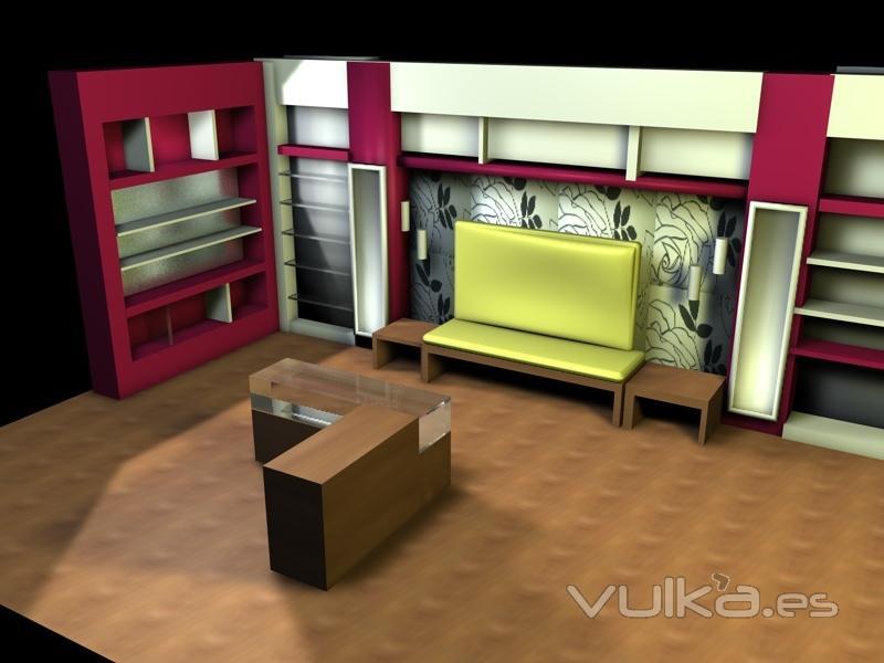 Lola torga dise o de interiores decoraci n for Diseno de interiores zapaterias