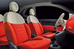 Fiat 500 PUR-02 Interior