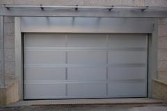 Puertas seccionales en aluminio lacado