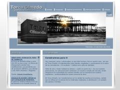 Página web de la empresa  ..:: torca olmedo ::..
