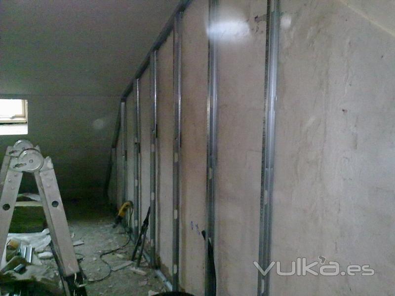 Foto paredes trabajadas para aislamiento termico - Aislamiento termico paredes ...