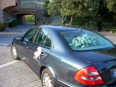 Mercedes E  para bodas.