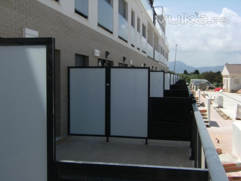 Decopal for Muro de separacion terraza