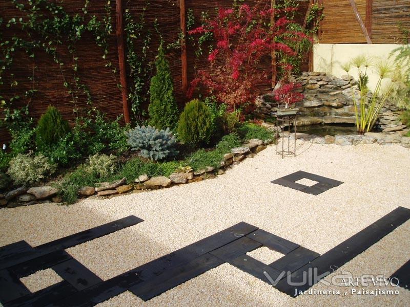 Arte vivo jardiner a y paisajismo s l for Jardineria fotos