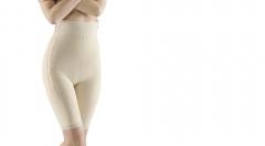 Faja postliposucci�n por encima de la rodilla