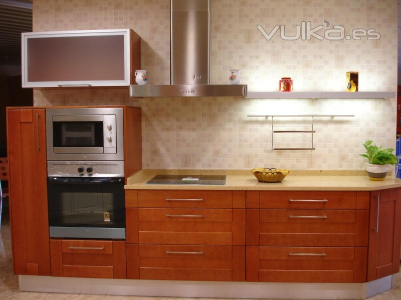 muebles cocina cerezo:
