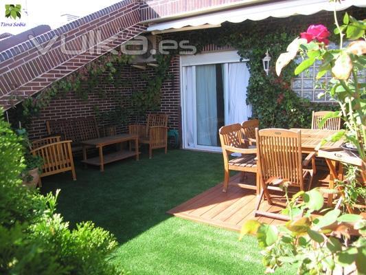 Jardines tierra savbia for Jardines urbanos en terrazas