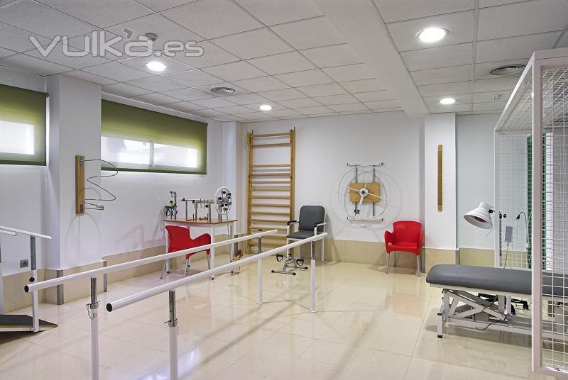 Foto sala de fisioterapia y rehabilitaci n for Gimnasio rivas centro
