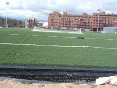 Drenaje y reciclado agua campos futbol