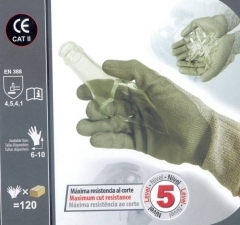 Guantes 3l máxima resistencia al corte technoflex