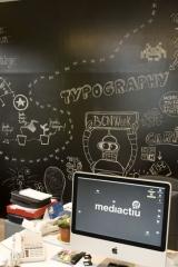Ideas creativas del estudio de diseño grafico mediactiu. durante la barcelona design week. bdw2012