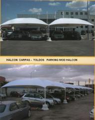 Parking para veh�culos, coches, motos. Disponemos de 10 modelos diferentes, y varias medidas seg�n modelo