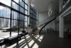 Hall de las oficinas