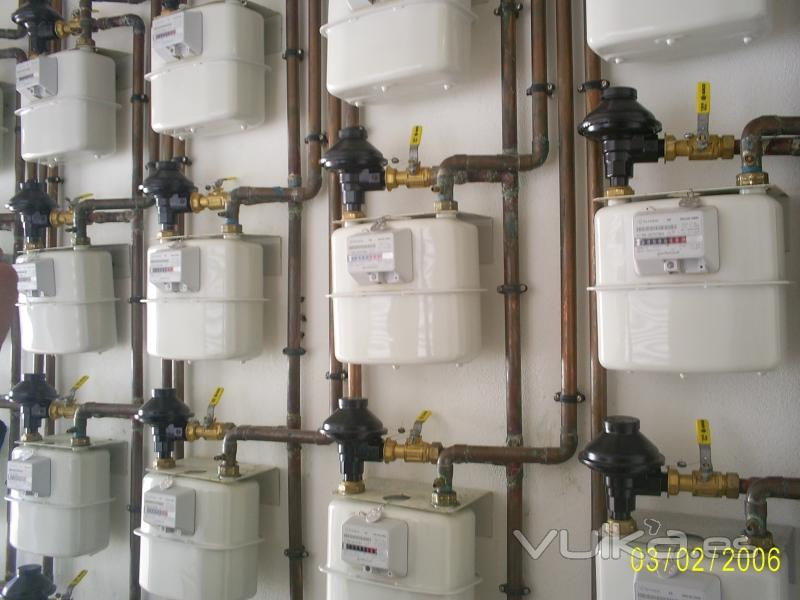 Foto centralizaci n de contadores de gas natural for Imagenes de gas natural