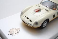 Ferrari 250 gto s.s. el papa benedicto xvi de fly car model.ref/ 99080.  scalextric colecciolandia