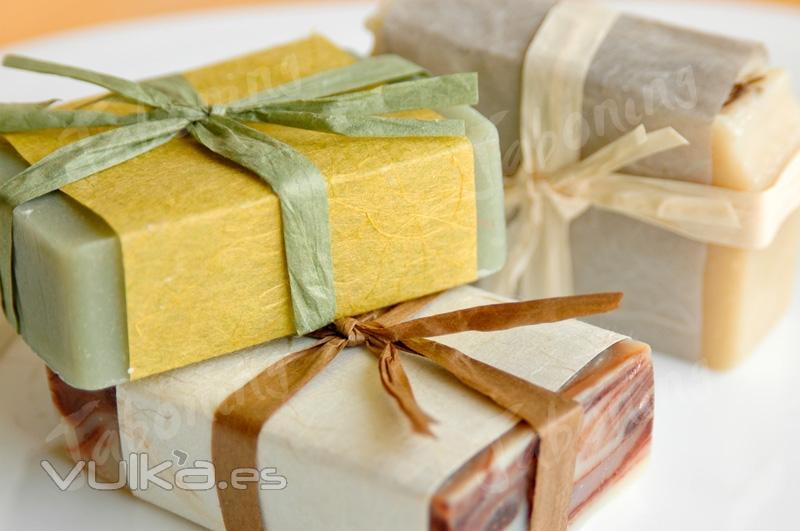 Foto: Jabón decorado para regalar