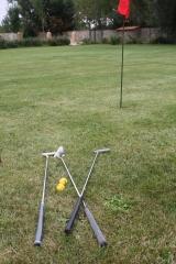 Lugar para practicar golpes cortos de golf,