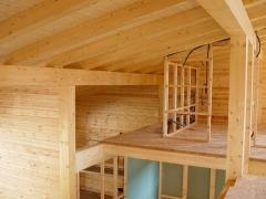 Casa construida en madera