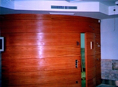 Muro curvo Centro de Direccion de Empresas