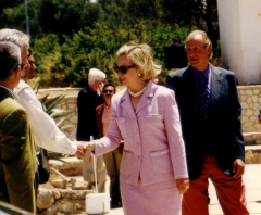 Hilary clinton y rey juan carlos i