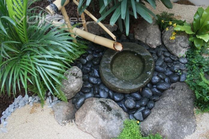 fotos jardins japoneses:Foto: Jardin japones con shishi odoshi en San Sebastian de los Reyes