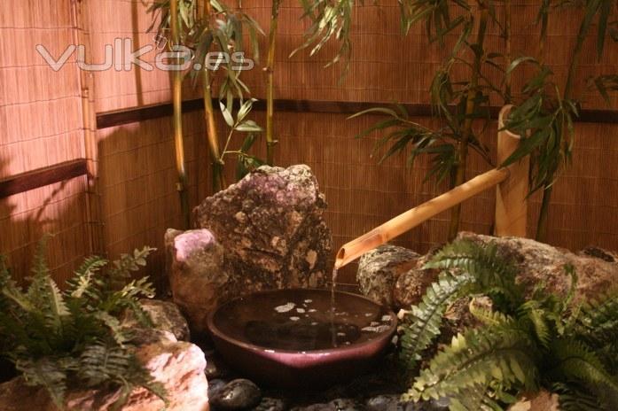 Foto jardin japones interior en barrio salamanca madrid - Jardin japones interior ...