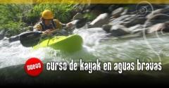 cursos de kayak en aguas bravas