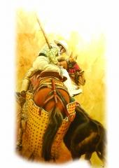 Obra a tama�o real (4mx2,40m) del artista cordob�s fernando g. herrera denominada