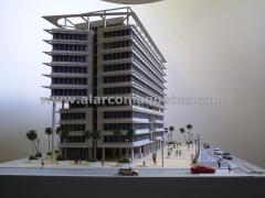 Maqueta. maqueta arquitectura. maqueta edificios 2 alarco maquetas